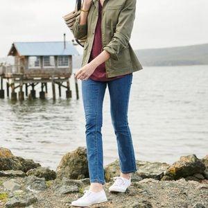 LL Bean True Shape Jeans Favorite Fit Slim-Leg 10P